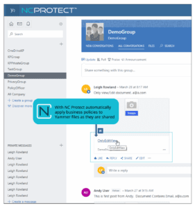 Protect Yammer Files with Conditional Access and Security