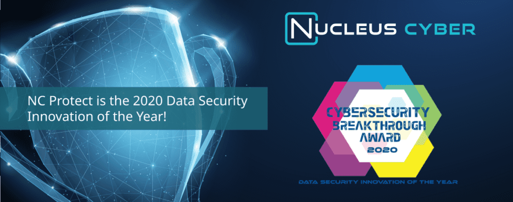 NC Protect Named Data Security Innovation of the Year