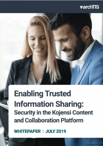 Whitepaper: Sharing information digitally and with trust