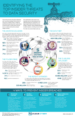 Infographic: Identifying The Top Insider Threats to Data Security