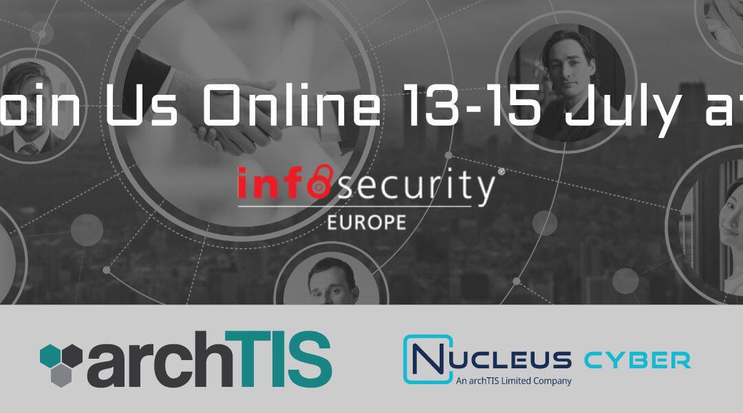 Join us at Infosecurity Europe 21 Next Week