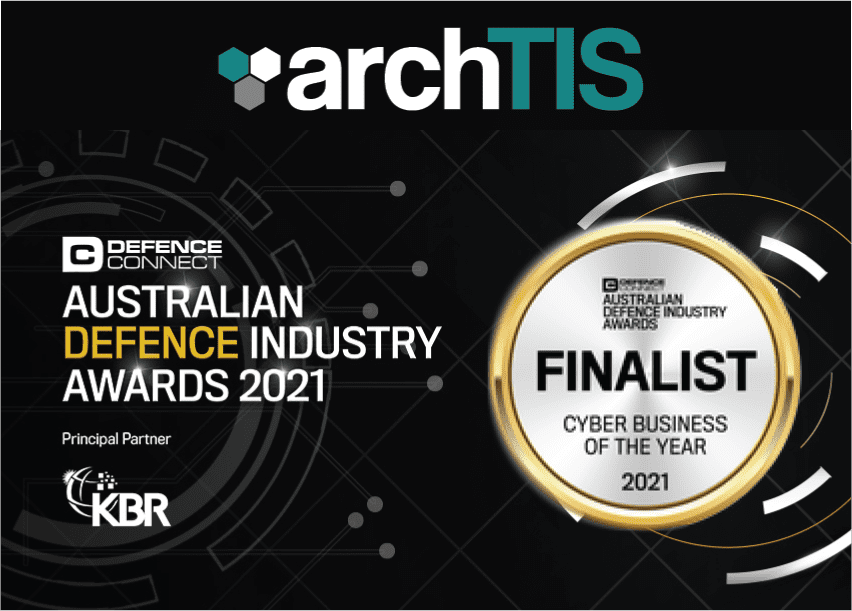 archTIS Named a Finalist for Cyber Business of the Year in the Australian Defence Industry Awards 2021