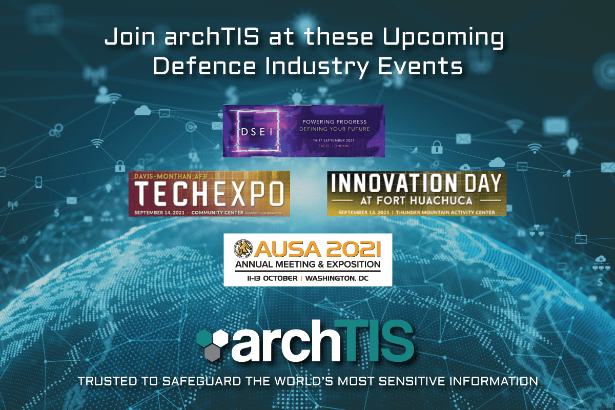 Find us at These Upcoming Defence Industry Events